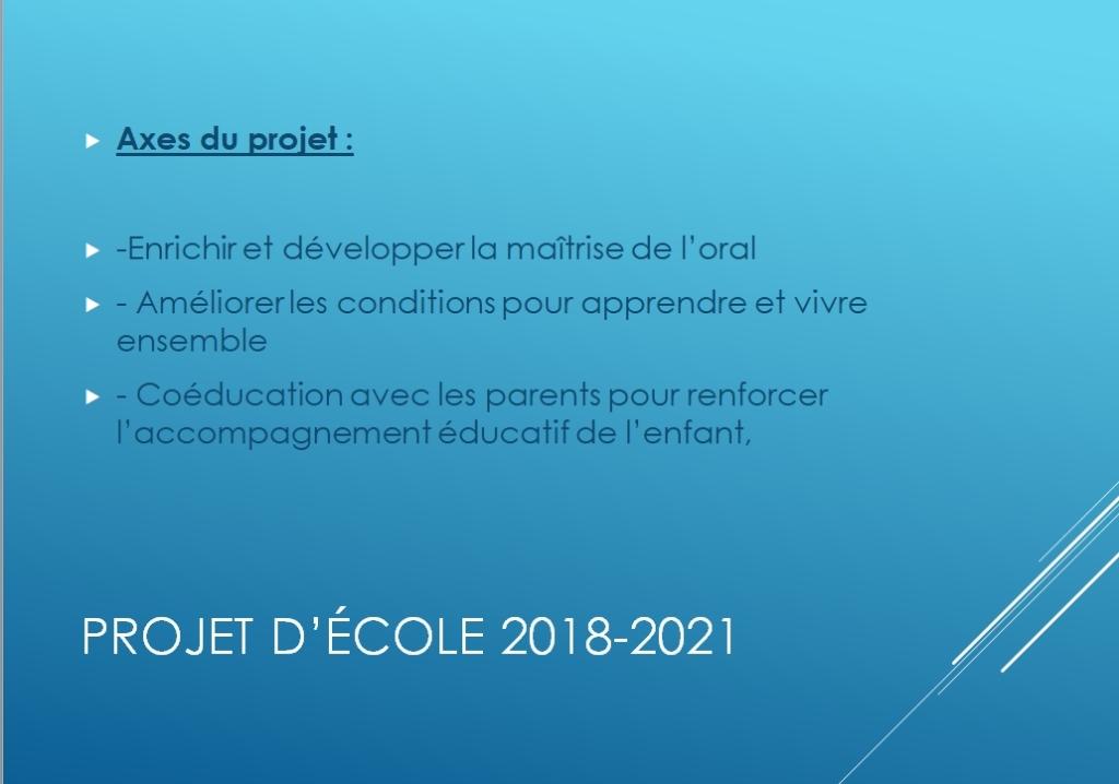 Calendrier Scolaire 2018_2021 Le projet d école 2018 2021 – Groupe Scolaire Brichebay
